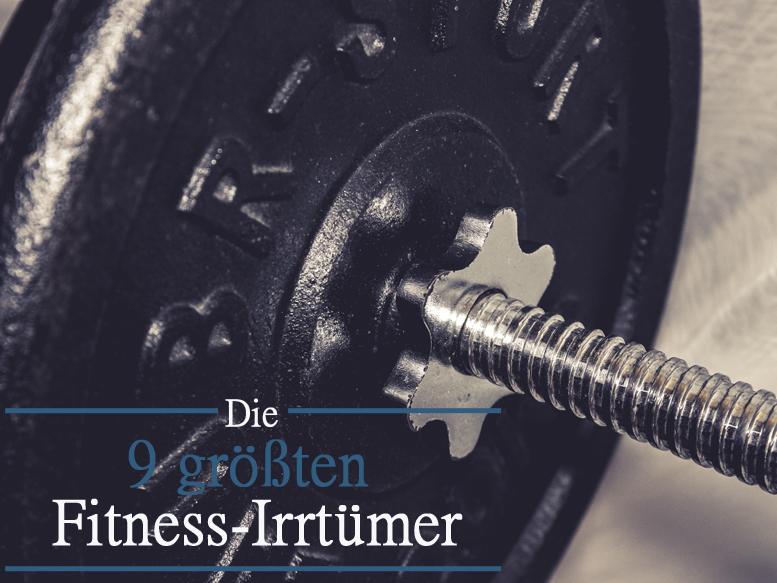 Gewicht 9 größte Fitness-Mythen